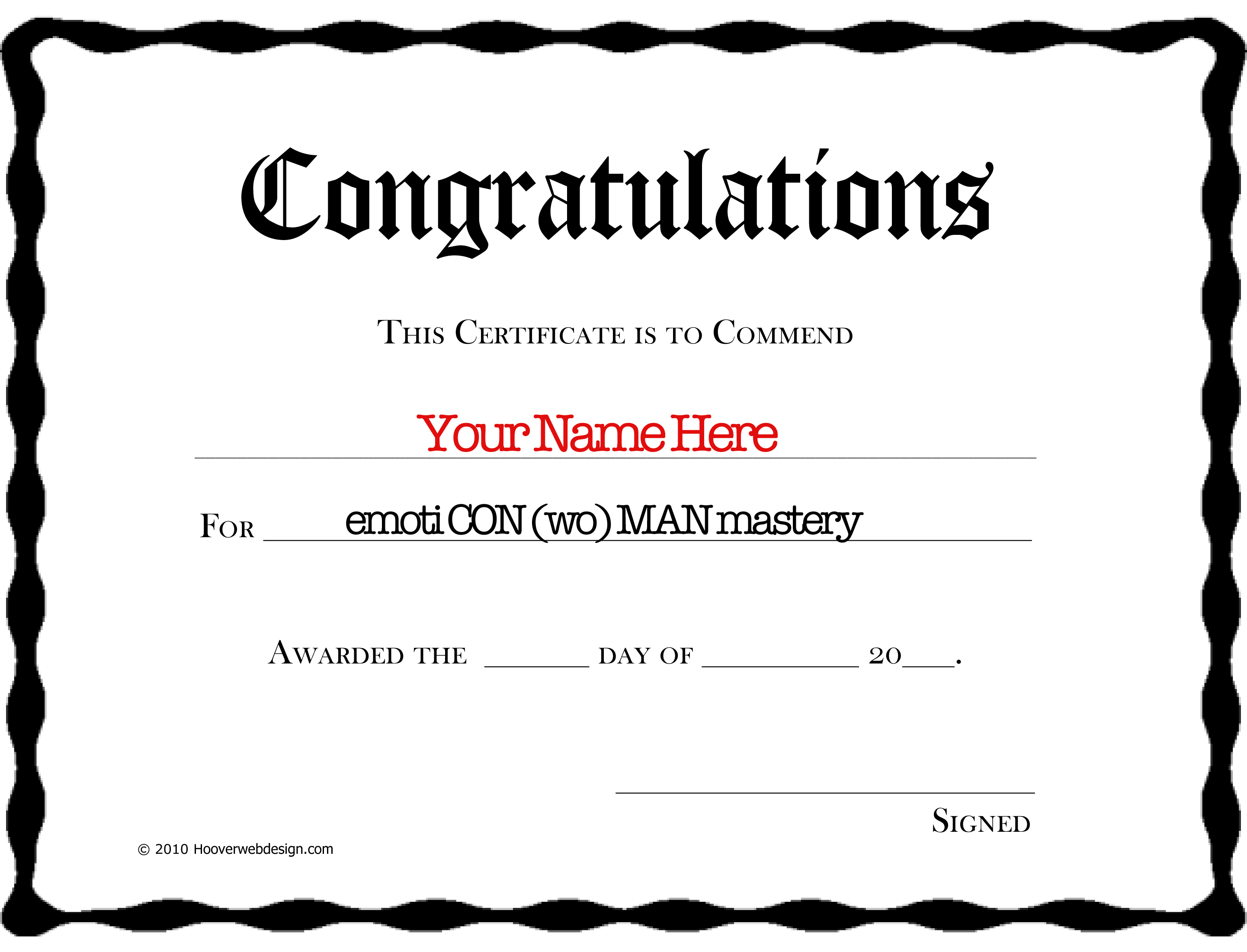 You Did It Printable Awards Pictures to Pin PinsDaddy – Congratulations Certificate